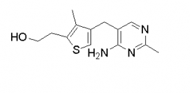 2-Thiopheneethanol, 4-[(4-amino-2-methyl-5-pyrimidinyl)methyl]-3-methyl-