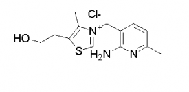 Thiazolium, 3-[(2-amino-6-methyl-3-pyridinyl)methyl]-5-(2-hydroxyethyl)-4-methyl-, chloride (1:1)